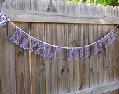 Wedding Banner Garland Happily Ever After Engagement Reception Photo Prop Personalize Custom