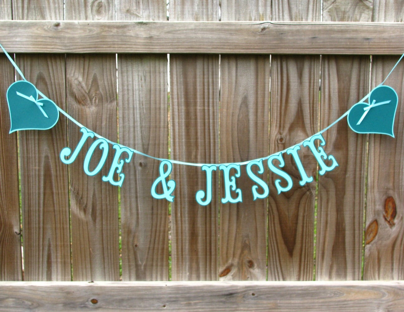 wedding banner bride and groom banner custom name by