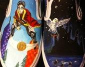 Custom Hand Painted Shoes Showcase