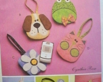 McCall's 5644 Cell Phone Case Pattern - Uncut