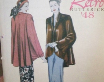 Retro Jacket Pattern - Butterick 5144 - Uncut