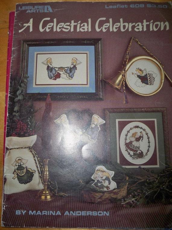 Cross Stitch Craft Book - A Celestial Celebration