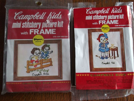 Mini Stitchery Craft Kits - Campbell's Kids