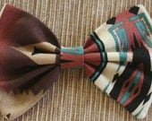 Tribal Print Bow