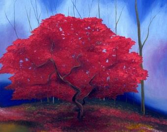 "Giclee Print of an Original Painting ""Autumn"""