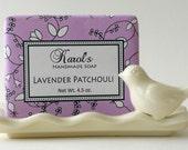 Soap - Handmade Soap - LAVENDER PATCHOULI Soap - All Natural Soap - Vegan Soap