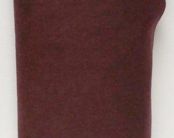 Mahogany Rose Merino 35% Wool Felt Blend Fabric