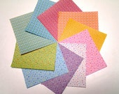 Pearl Star Pattern II- Double Sided Origami Paper - 20 Sheets