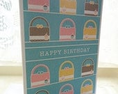 Personalised Handbag Birthday Card