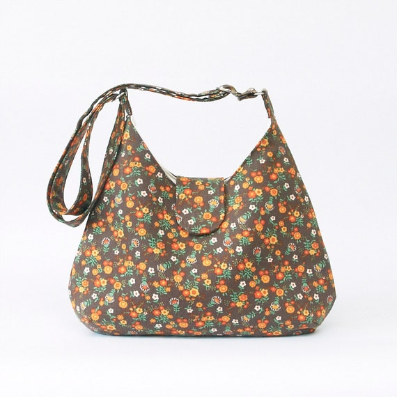 Summer Festival Cross Body Bag in Vintage Fabric
