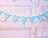 CHEVRON Garland.  Perfect PHOTO PROP, room decor, and party decor.  So many fun uses.  See pictures for more color options.