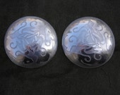 Celtic Bunny Large Domed Metal Brooch Set 3 Metals Available