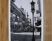 2 postcards 1940s San Francisco Chinatown, Cliff House and Seal Rocks, black and white lot of 2 unused Price reduced.