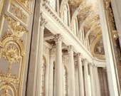 Gold Photo - Versailles 8x10 Photo - Church, Paris - Marie Antoinette, Pillars - Saffron - Metallic, Gold - French, Neutral, Luxury