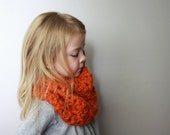 PATTERN ONLY - Childrens Cowl Neckwarmer - Christy
