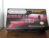 RESERVED: Complete Nintendo NES Action Set System in box, with all paperwork