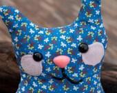 Alder - Plush Whimsy Kitten Floral Pattern
