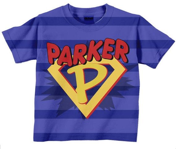 Boys superhero shirt personalized super hero by Boys superhero t shirts