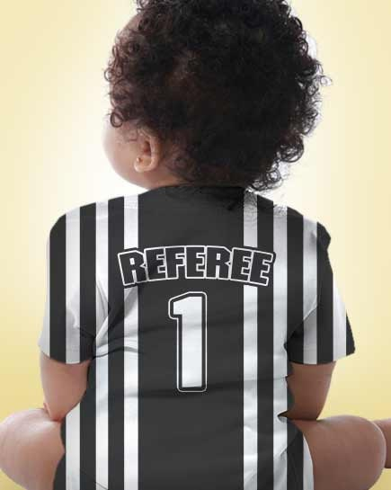 Baby Referee Shirt Personalized Boy S Sport By