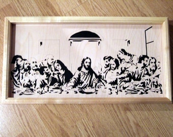 The Last Supper - Jesus and Apostles
