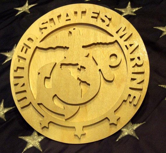 United States Marine Plaque - Active Duty