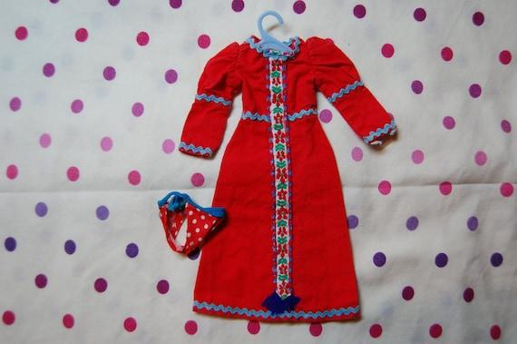 Vintage Kenner Blythe Outfit Roaring Red 1972