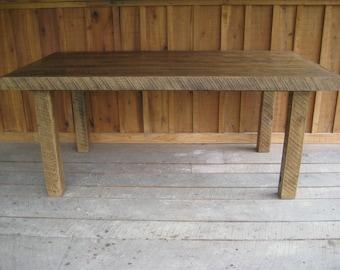Aged Oak Table - Ready To Ship