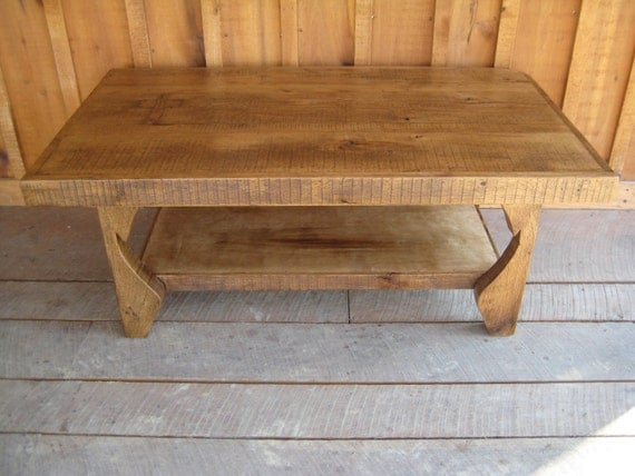Reclaimed Chestnut Coffee Table - Ready To Ship