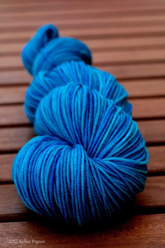 "Sport Yarn - OOAK hand-dyed1005 SW Merino - ""Vivacious"""