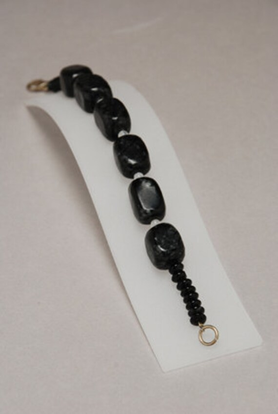 Serpentine,Moonstone and Agate semiprecious stones,bracelet.