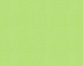 30s Retro Lime 9900-75 - Bella Solid by Moda Fabrics - 1 yard