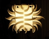 Pendant light tribal lamp shade