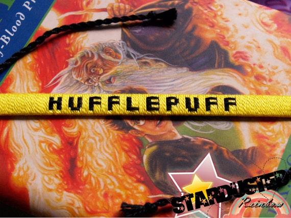 Ready-to-Ship  Hufflepuff House Woven Bracelet