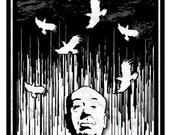 Alfred Hitchcock's Birds - 5x7 Print