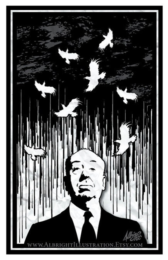 Alfred Hitchcock's Birds - 11x17 Poster