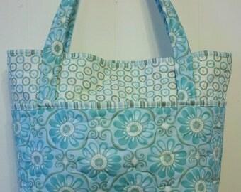 Sebago Tote, diaper bag, school tote, scrapbooking tote, craft bag, beach bag, over night bag