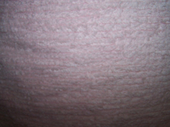 6 Yards of Pink Striped Chenille