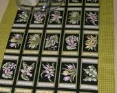 Table Runner Botanical Pattern