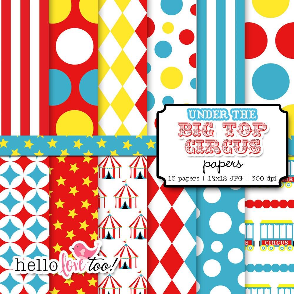 circus patterns printable -#main