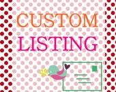 Custom listing for Vk