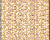 Shop Closing Sale - Rhapsodia - Terra Stamps in Gold - by Pat Bravo for Art Gallery Fabrics - 1 Yard