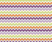 Dress Up Days - Chevron in Grape - by Doohickey Designs for Riley Blake - 1 Fat Quarter