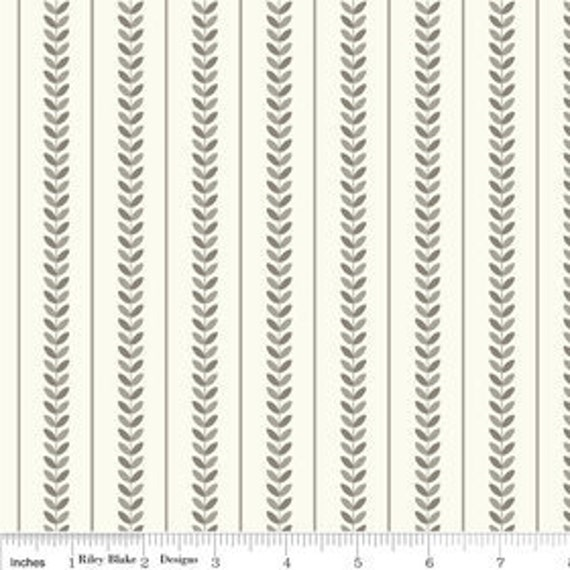 Verona - Stripe in Gray - by Emily Taylor Designs for Riley Blake - Half Yard