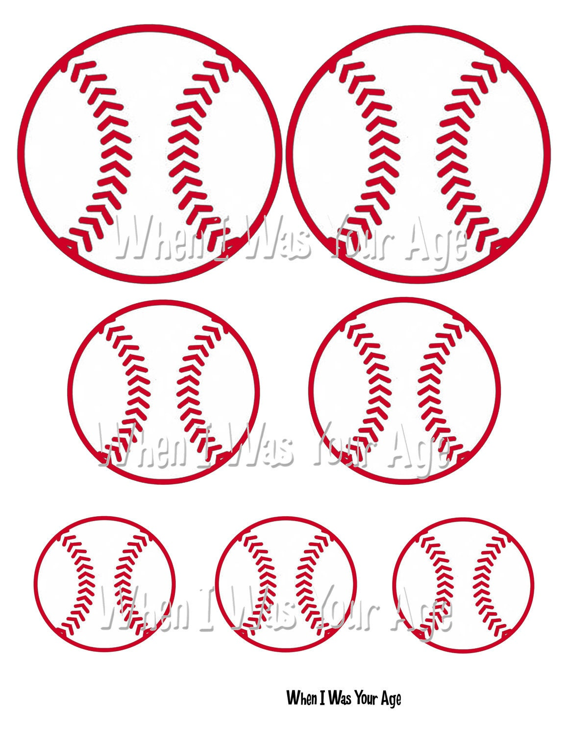Luscious image within baseball template printable