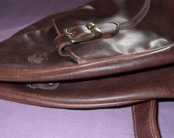 Vintage Brown Cross Body Bag
