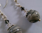 Classy Gray Earrings - Free Shipping