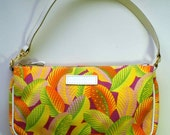 MANUEL CANOVAS designer purse tropical print