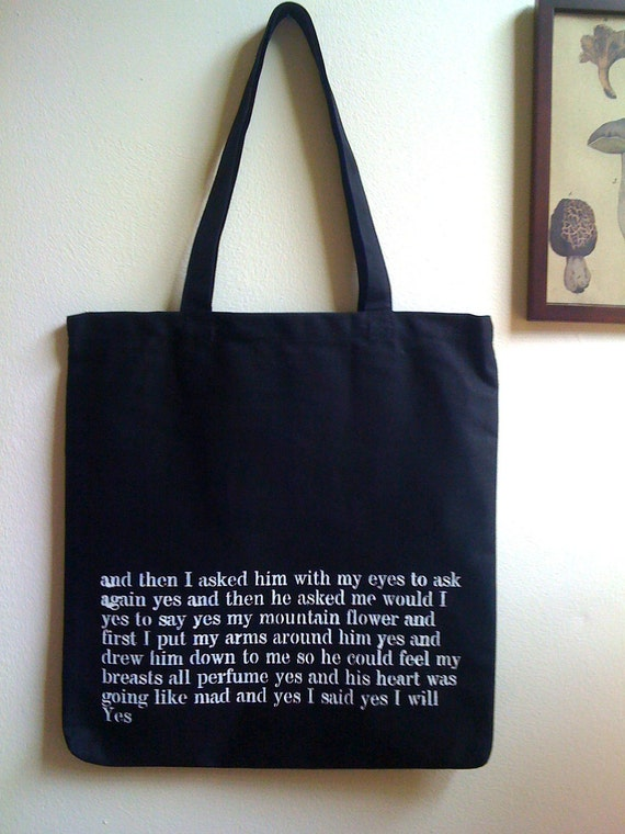 Literary Tote Bag - Ulysses