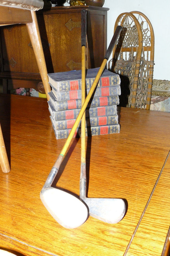 Historic Golf Irons~1950's Industrial Transition Golf Clubs by Spalding Robert T Jones Jr Tournament Model
