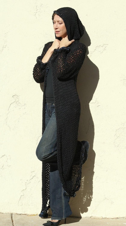 Long Knit Sweater Coat | Fashion Women's Coat 2017
